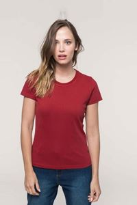 Vintage Dames T-Shirt Met Korte Mouw Kariban