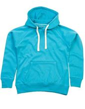 Picture of Mantis Womens Superstar Hoodie Surf Blue