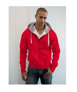 Chunky Zoodie Fire Red maat XXL