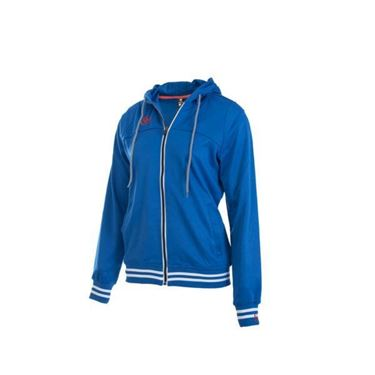 Brabo Tech Hooded Dames blauw