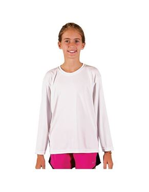 Youth Solar Performance Long Sleeve T-Shirt UPF 50+