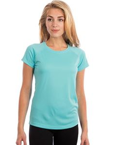 Ladies Solar Performance Short Sleeve T-Shirt UPF 50+