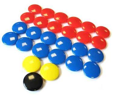 Grote Magneten Voor Tactiekborden