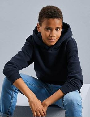 Kids Authentic Hooded Sweat Russell