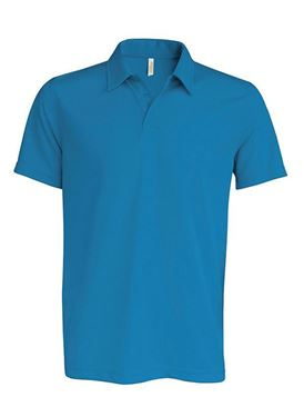 Picture of Proact Sneldrogende Cool Plus Heren Sportpolo Aqua Blue XL