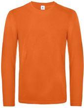 Picture of B&C Exact 190 long sleeve T-shirt Urban Orange