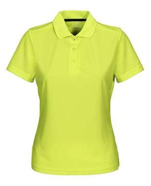 Picture of Cutter & Buck Kelowna Polo Women Neon Yellow XS
