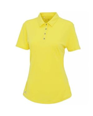 Picture of Adidas Women's Teamwear polo Light Yellow XL