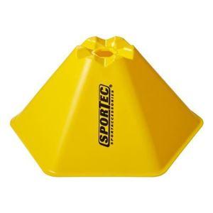 Afbakenbollen Hexagonaal 15 Cm Hoog Set Van 10